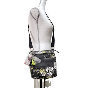 SakRoots Multicolor Floral Crossbody Bag